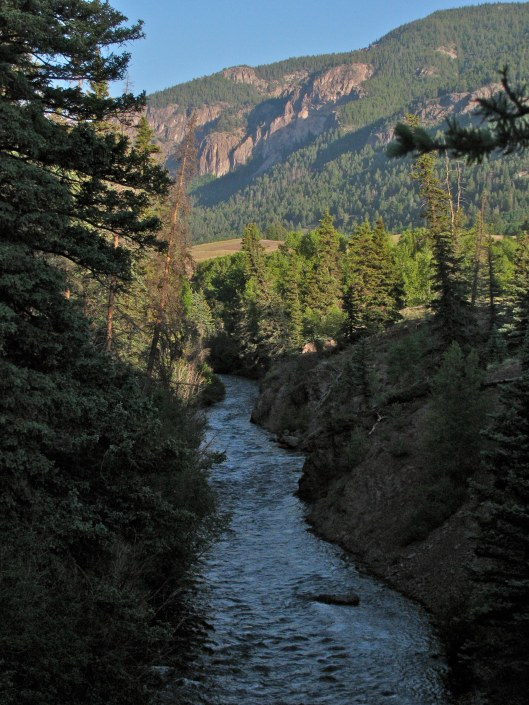 Above the South Fork
